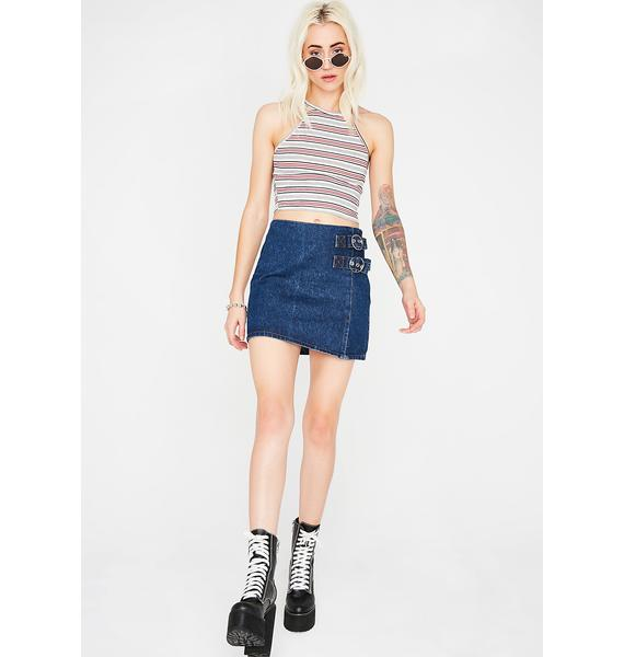 Ready Or Not Striped Top