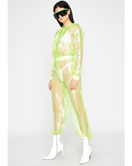 Shocking Slay Organza Jumpsuit