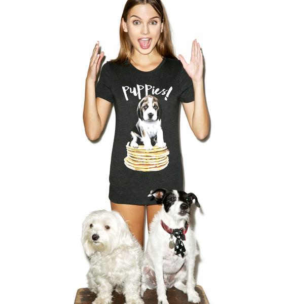 Puppies Make Me Happy Pupcakes Tee