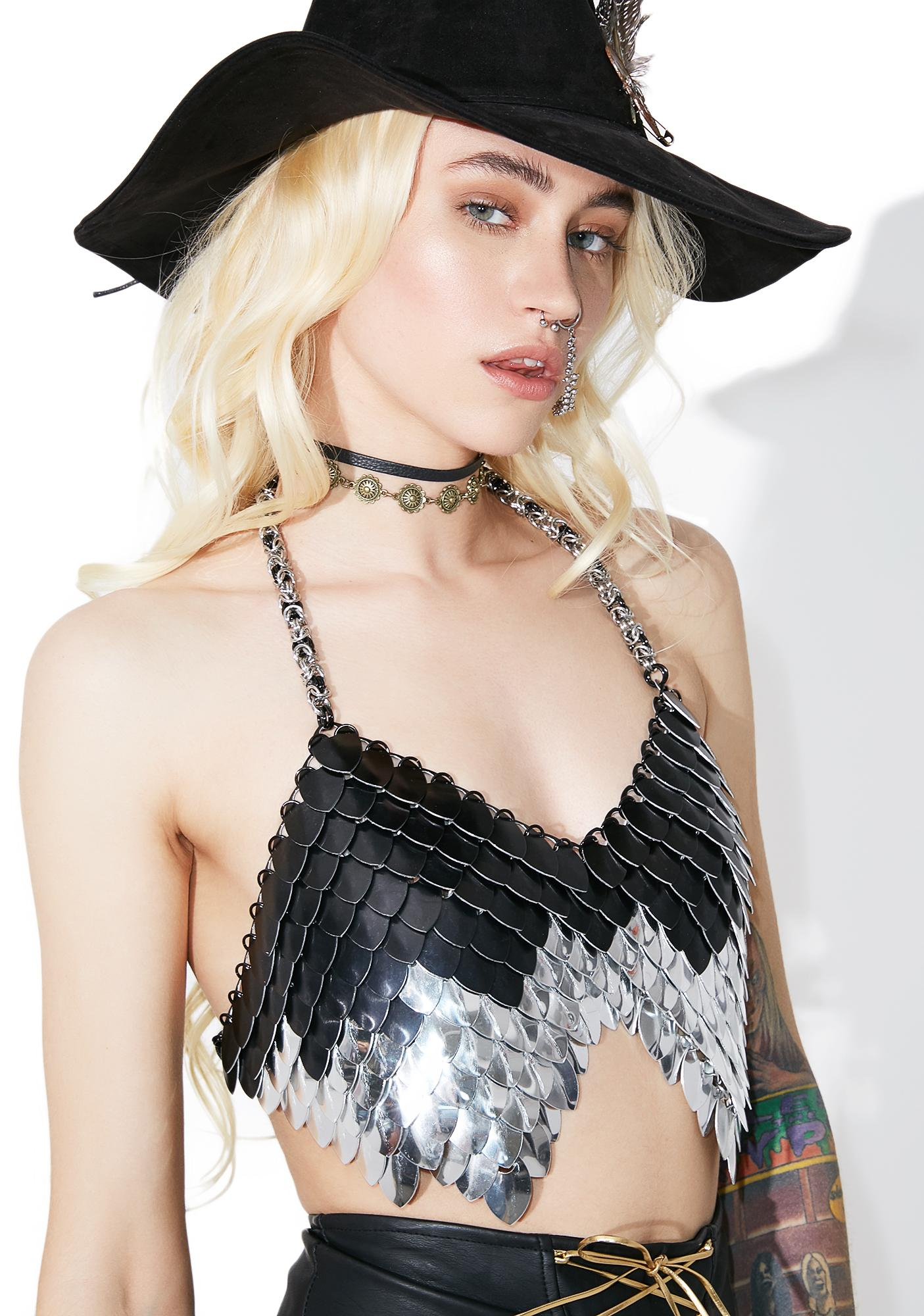 Eowyn Chainmail Halter Top