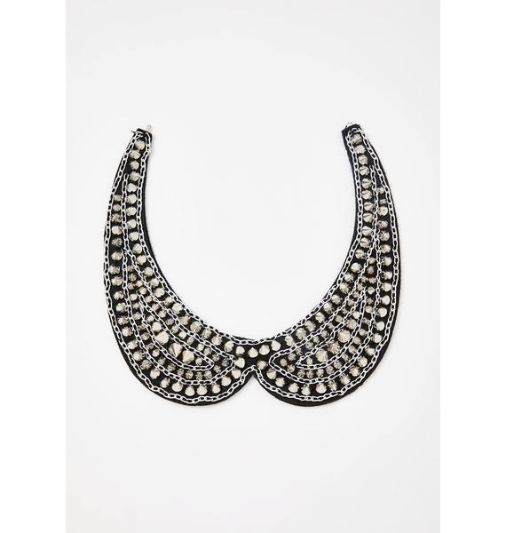Royal Rocker Collar Necklace