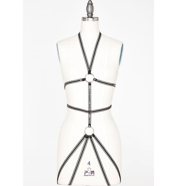 Enchant My Love Sequin Harness