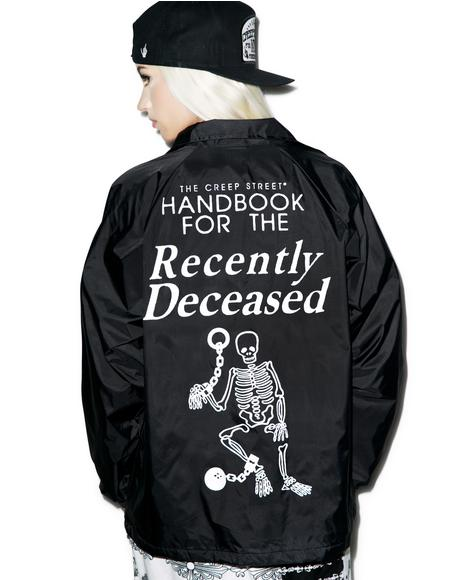 Recently Deceased Coaches Jacket