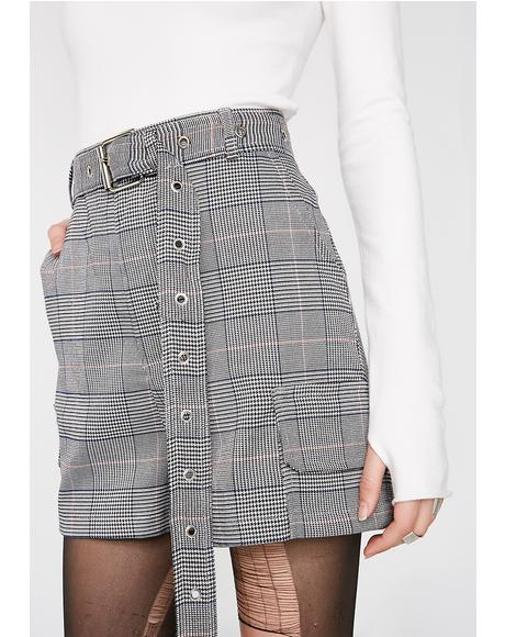 Get To Twerk Plaid Shorts