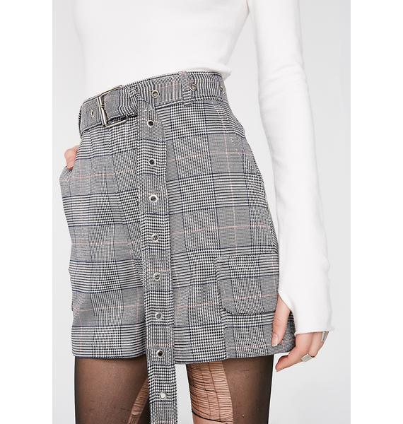 Get To Twerk Plaid Shorts