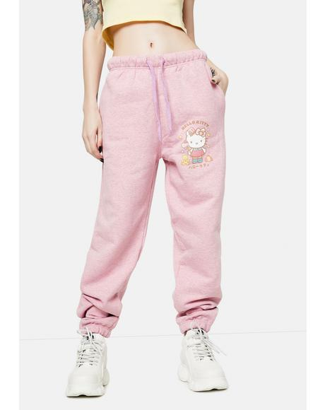 Hello Kitty Graphic Logo Joggers