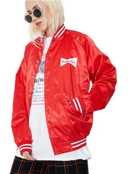 Budweiser Varsity Jacket