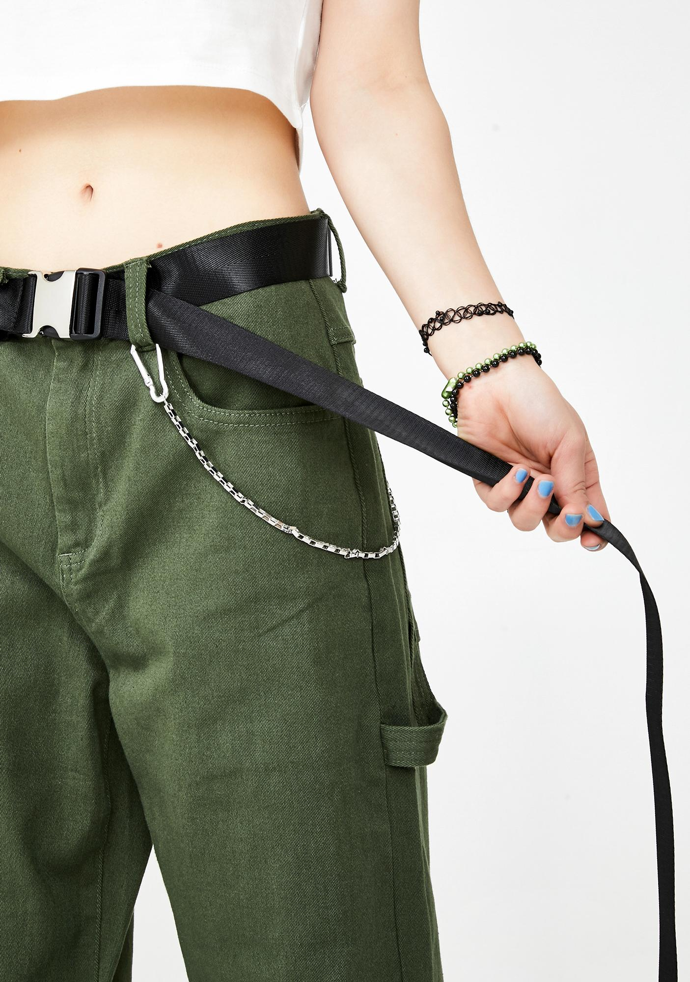 Casually Chic Buckle Belt