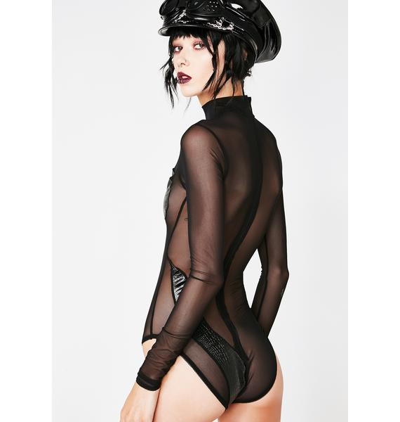 Sinful Sass Sheer Bodysuit