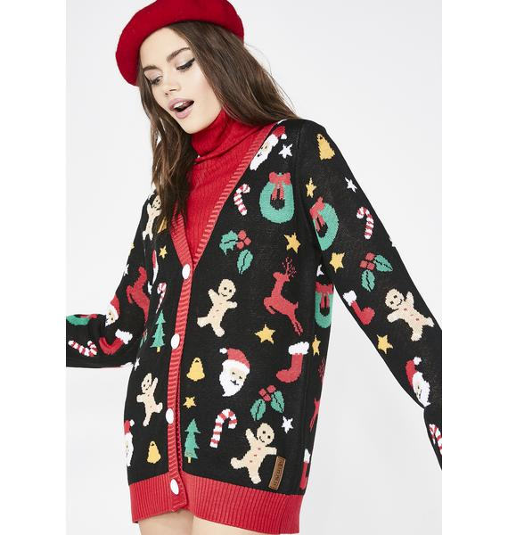 Tipsy Elves Cookie Cutter Cardigan