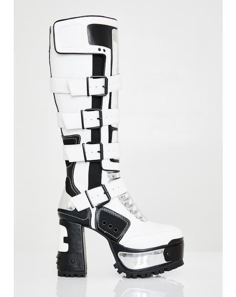 Chromatron Platform Boots