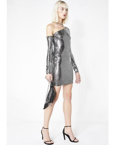 Disco Honey One Shoulder Dress