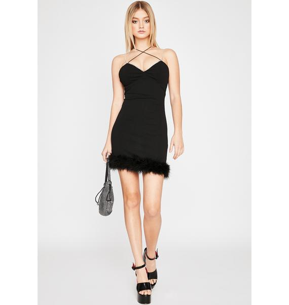 Frisky Tricks Mini Dress