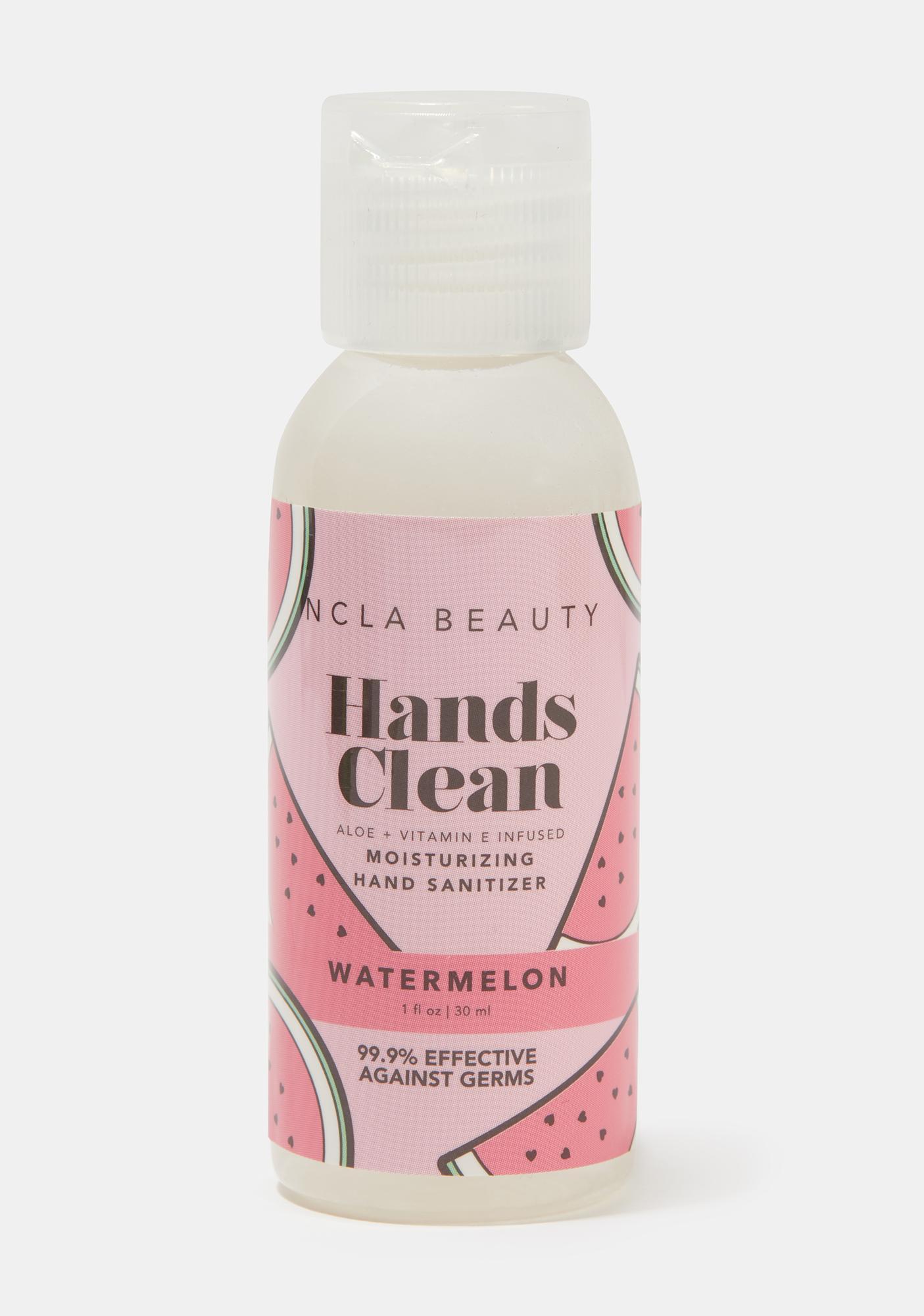 NCLA Watermelon Hands Clean Moisturizing Hand Sanitizer
