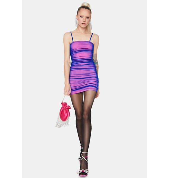 Into The Bloom Mesh Dress
