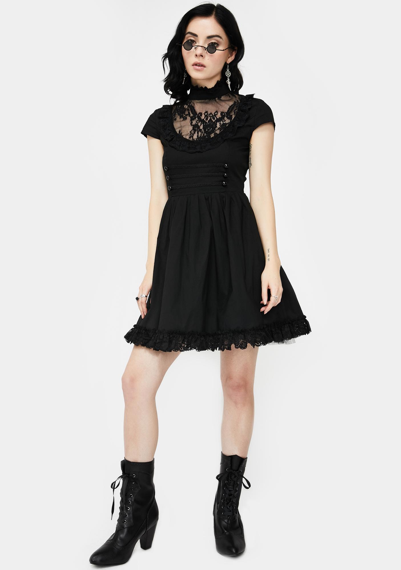Killstar Death March Mini Dress