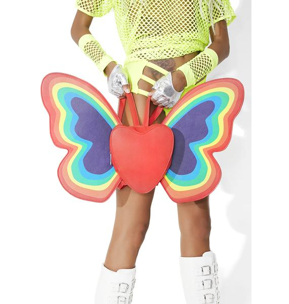 Current Mood Happy Butterfly Backpack