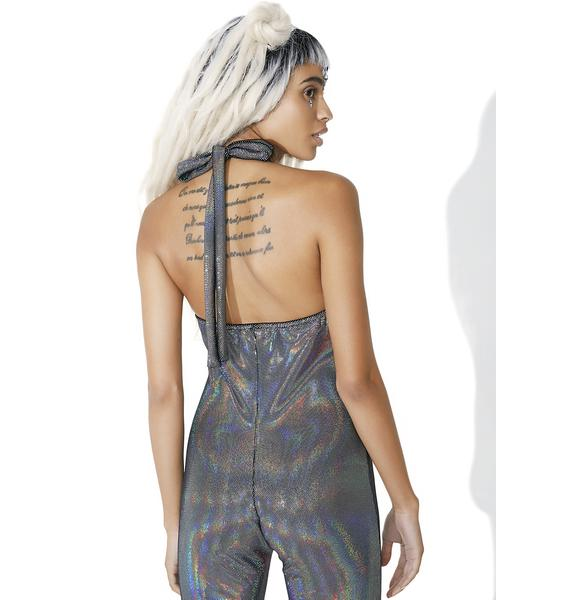 J Valentine Star Scouter Holographic Jumpsuit