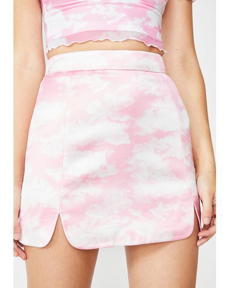 Bliss Vision Satin Skirt