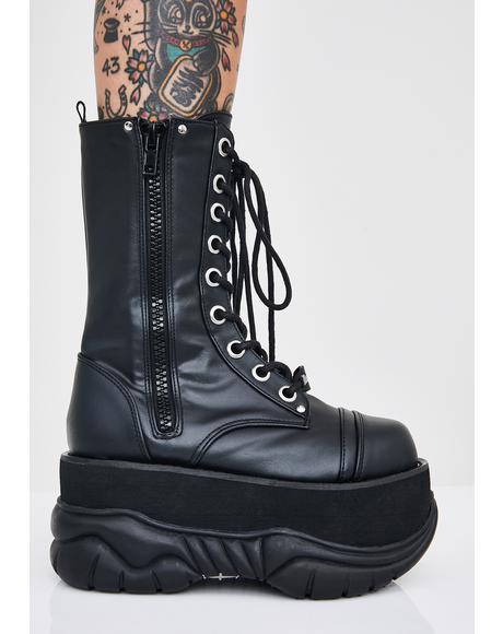Cyber Void Platform Boots