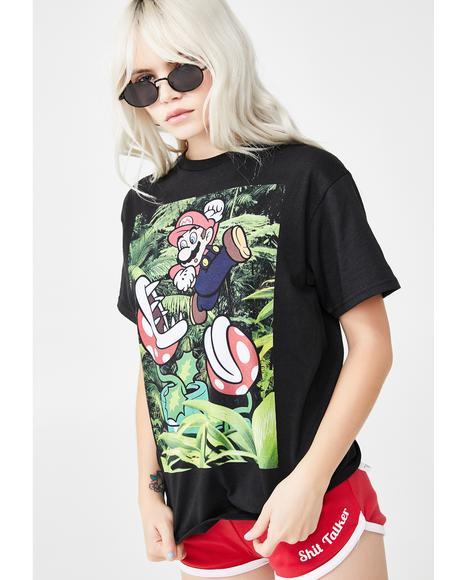 Mario Plants Graphic Tee