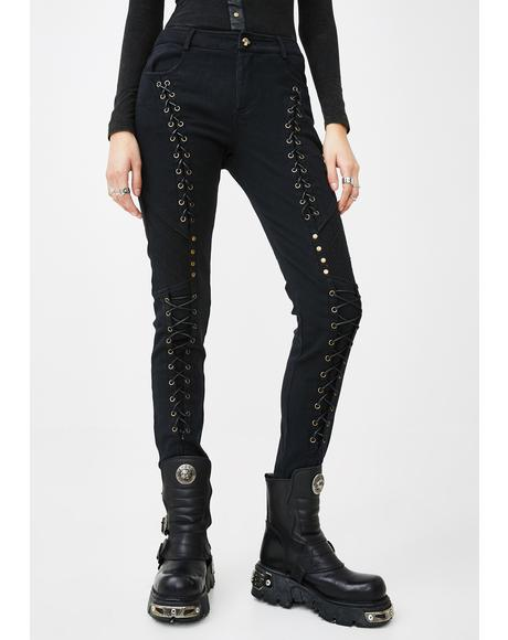 Steampunk Rope Pants