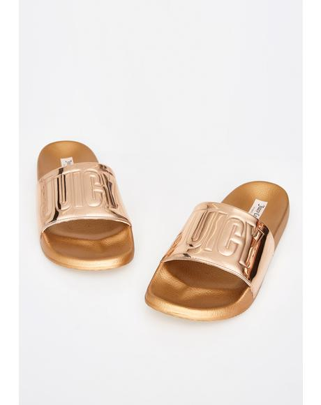 Mara Metallic Slides