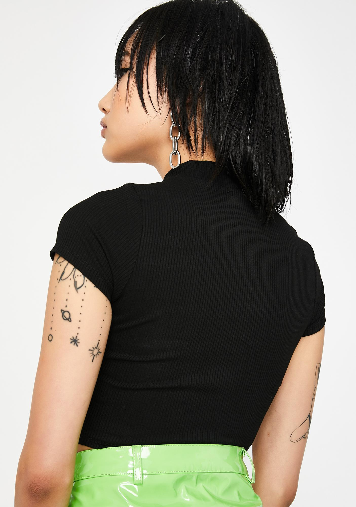 Nonstop Shade Cut Out Top