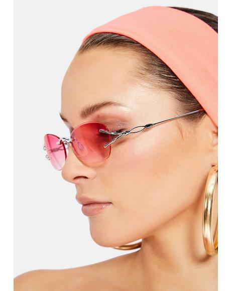 Blush Dolly Sunglasses