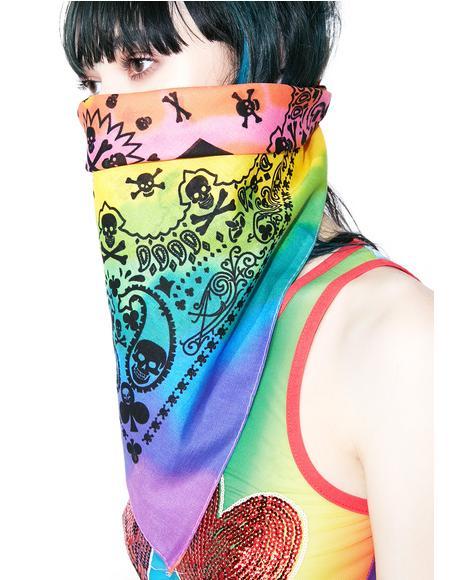 Rogue Rainbow Bandana