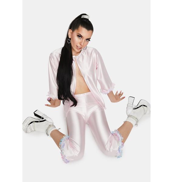 ESQAPE Lullaby Satin Pajama Set