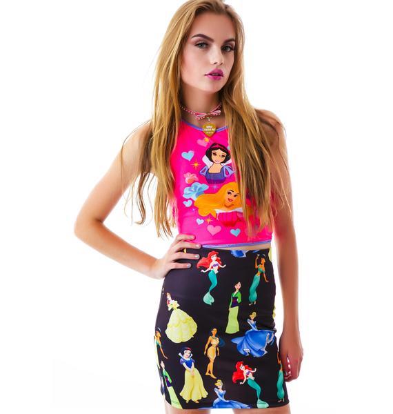 O Mighty My Favorite Princess Skirt