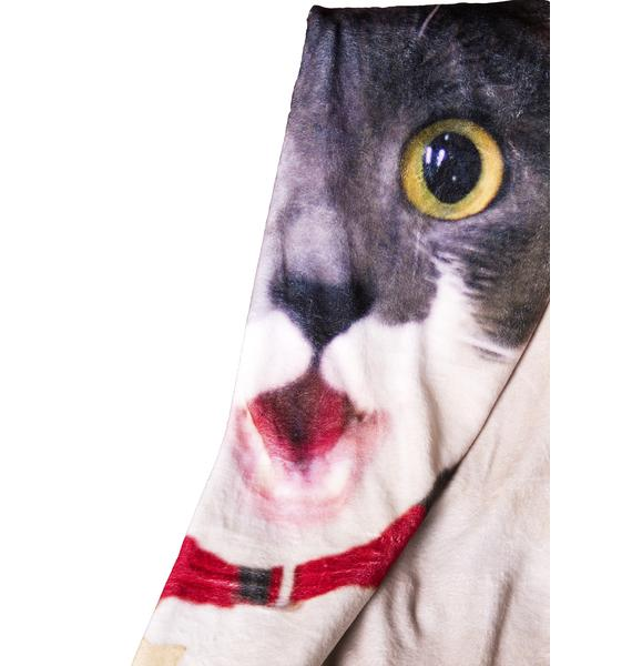 ASPCA Curious Kitty Blanket