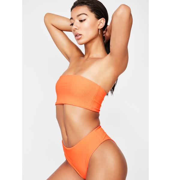 Frankies Bikinis Rave Heart Jenna Bikini Bottoms