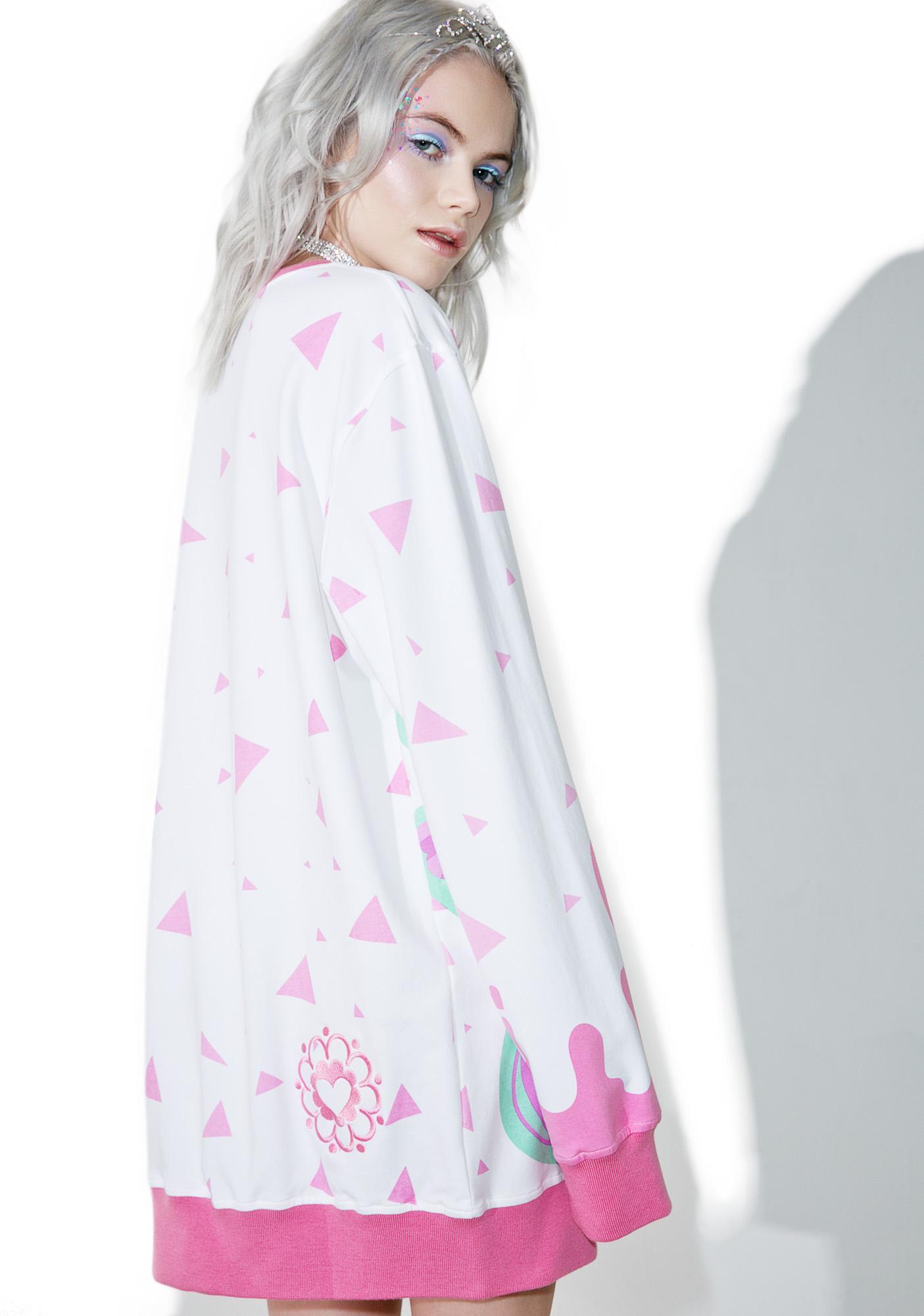 Japan L.A. X Miss Kika Pizza Sweatshirt
