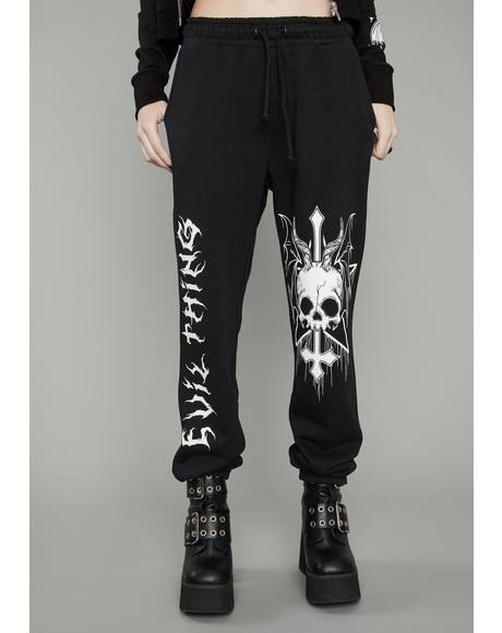 Take No Prisoners Graphic Sweatpants