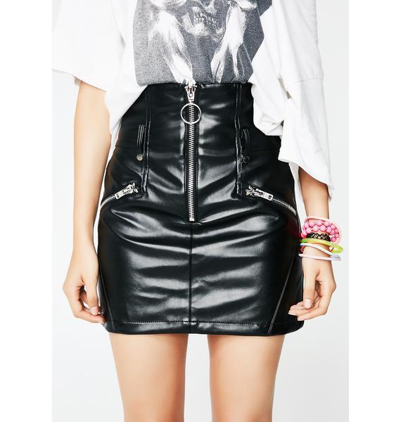 Bad Attitude Mini Skirt
