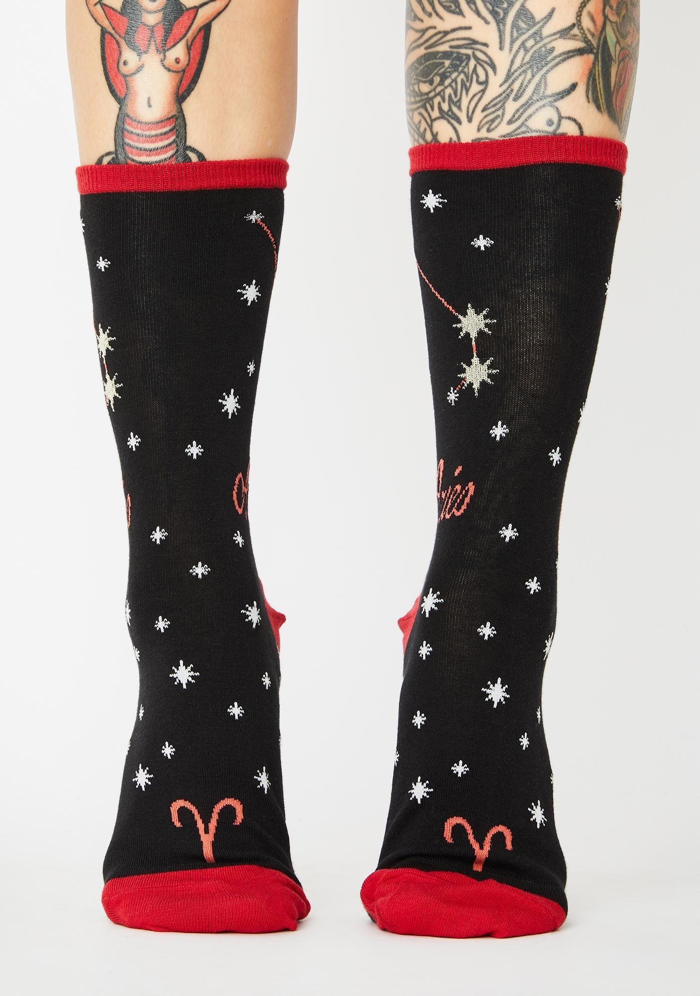 Socksmith Design Aries Crew Socks