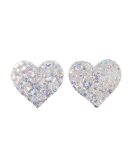 Silver Sequin Pasties