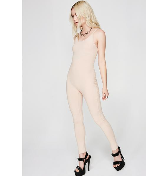 Nude Nothing To Hide Catsuit