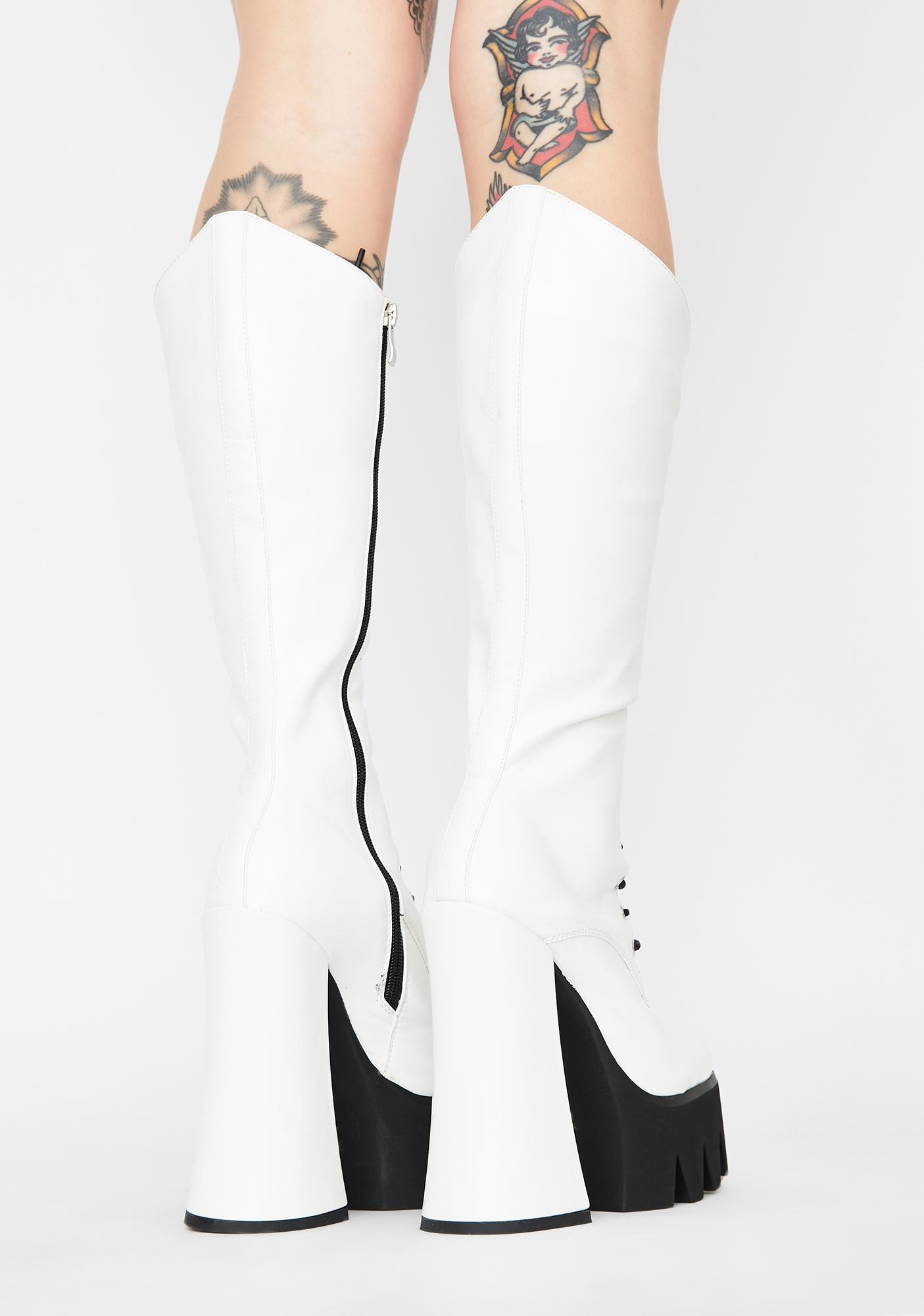 Lamoda Game On Knee High Boots