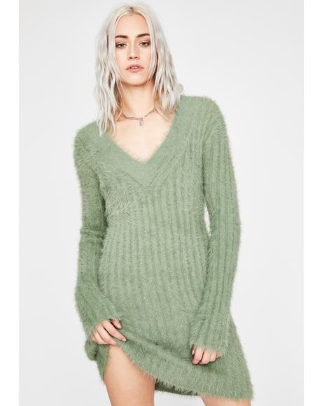 Cuddle Bug Fuzzy Sweater