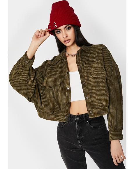 Dude Stay Hatin' Cropped Jacket