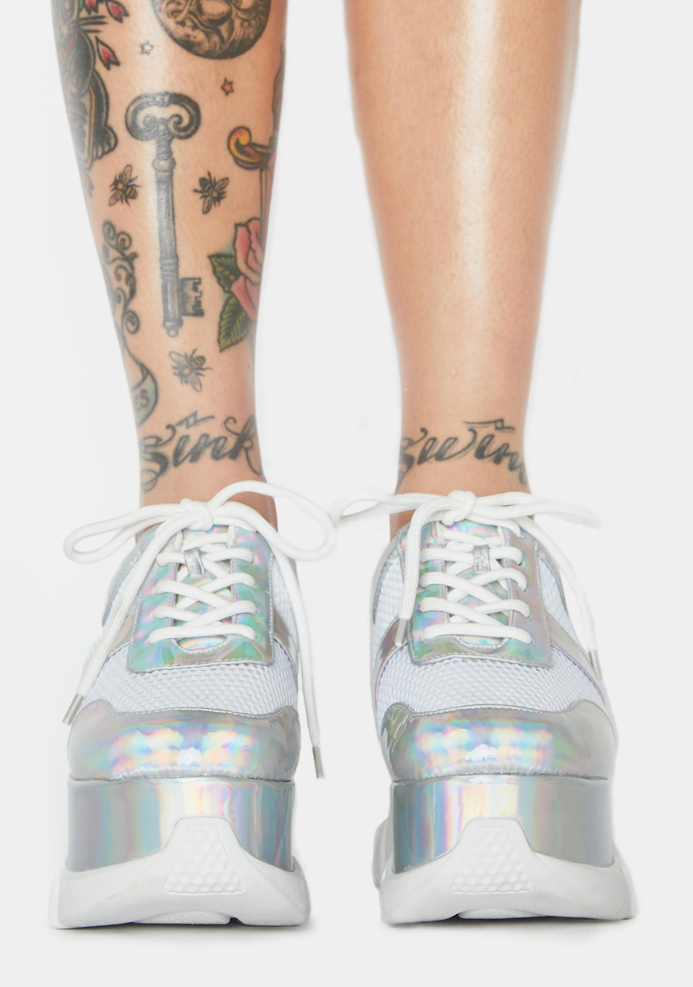 BBcakes Club Platform Sneakers