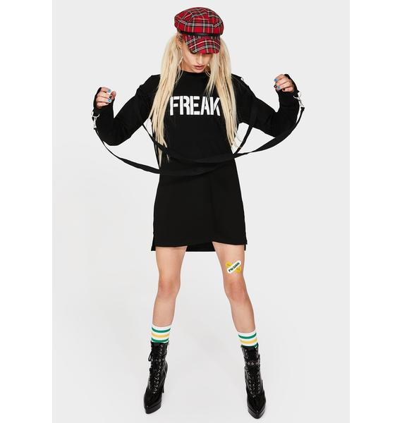 Current Mood Freak Show Long Sleeve Graphic Tee