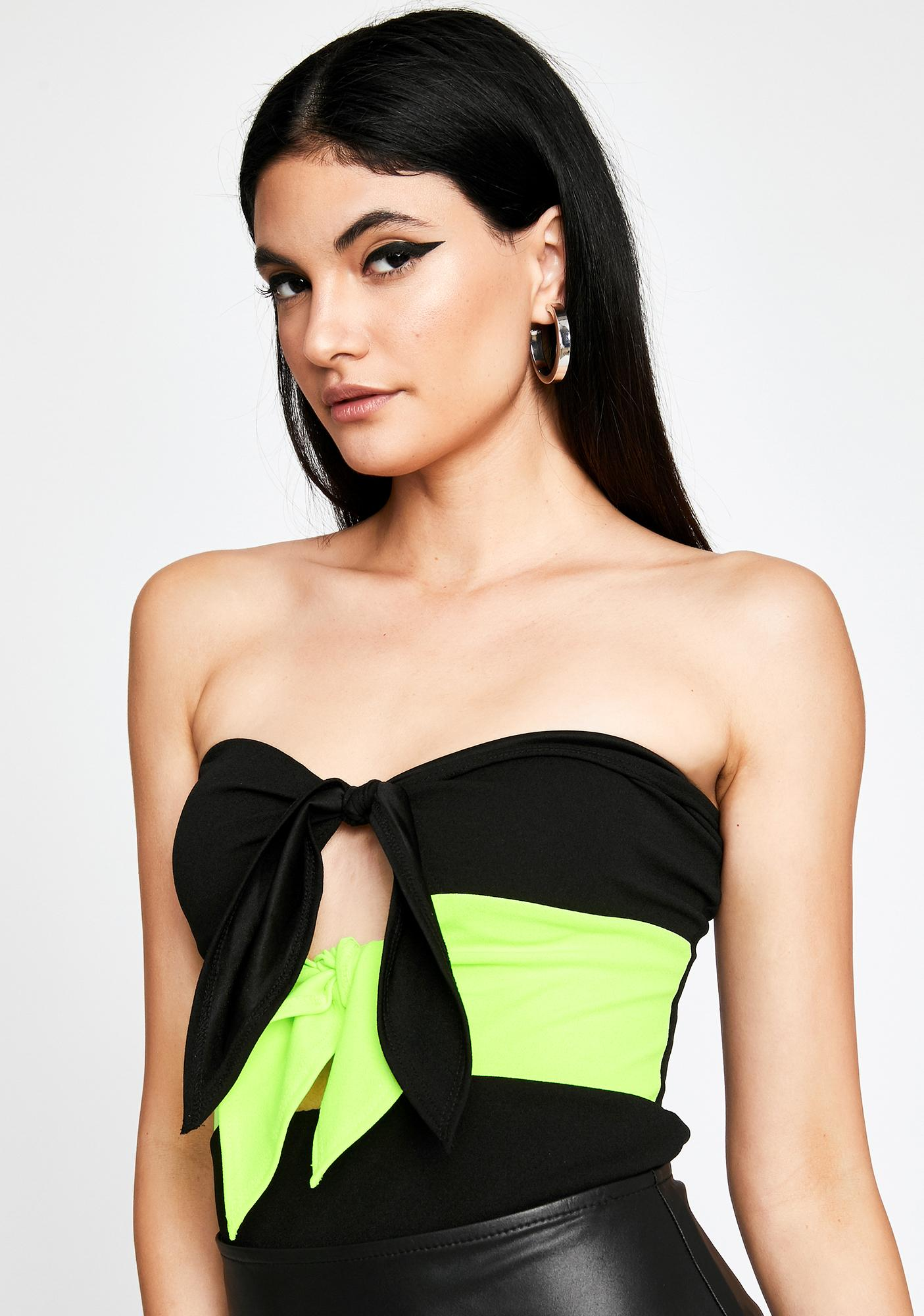 Volt With Me Or Nah Tube Top