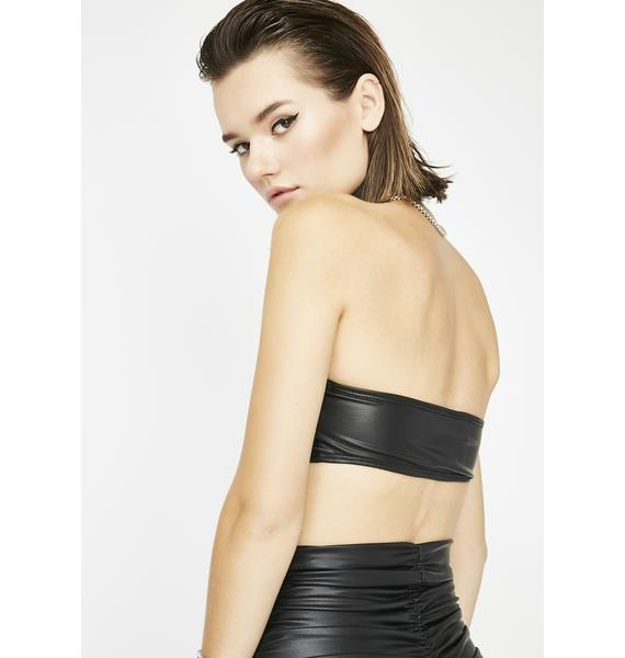 All The Vices Ruched Bandeau