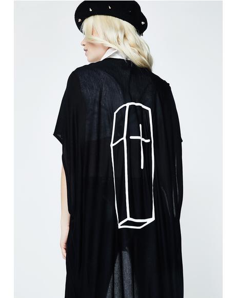 Coffin Kimono