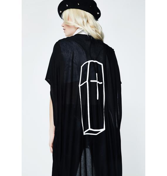 Witch Worldwide Coffin Kimono