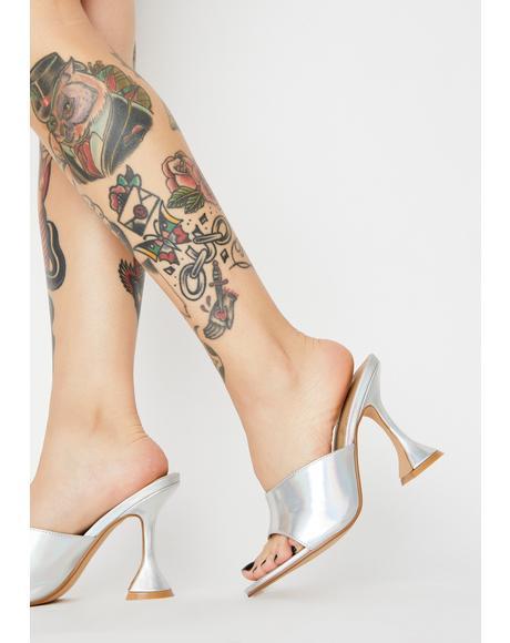 Millennial Martini Metallic Heels